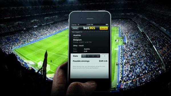 Live betting and streaming at bet365